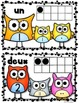 """FRENCH: """"Owl"""" About Numbers {Math Posters 1-10} Kindergarten Common Core"""