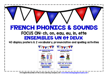 FRENCH PHONICS & SOUNDS (1&2) - 40 POSTERS / ACTIVITIES