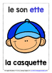 FRENCH PHONICS & SOUNDS (2) - 20 POSTERS / ACTIVITY