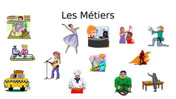 FRENCH - PPT - Les Métiers