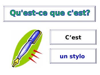 FRENCH - PPT - Mes Affaires