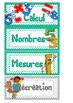 FRENCH PRINTABLE: 36 Labels / Etiquettes for your classroom and your students!