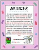 FRENCH Parts of Speech Posters - Parties du discours (Affiches)