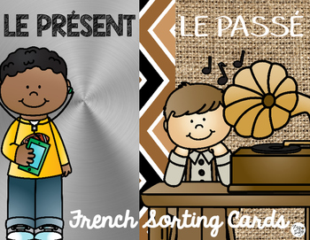 FRENCH Past & Present Sorting Cards