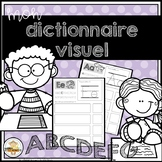 FRENCH Personal Visual Dictionary - Mon dictionnaire visuel