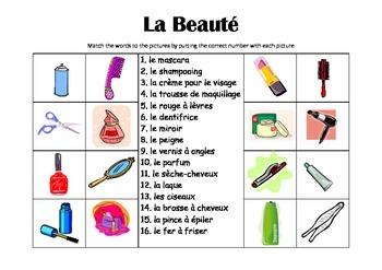 FRENCH - Picture Match - La Beauté (Beauty)