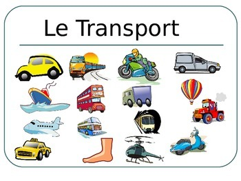 FRENCH - PPT - Flashcards- TRANSPORT