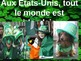 FRENCH Powerpoint Kindergarten Book - St Patrick's Day