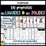 FRENCH Properties of Liquids & Solids - Propriétés des liquides & solides 2e