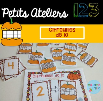 FRENCH Pumpkins 123 Center/ Atelier 123(Citrouilles)