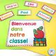 French classroom decor set RAINBOW CHEVRON