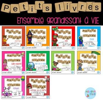 FRENCH Reader Growing BUNDLE /Les petits livres (ensemble grandissant)