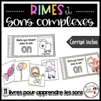 FRENCH Rhyming Flipbook/ Livres à rabats des rimes (Activi