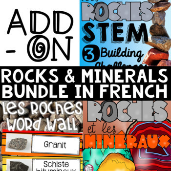 FRENCH Rocks and Minerals Science ADD-ON BUNDLE