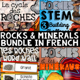 FRENCH Rocks and Minerals Science Unit BUNDLE