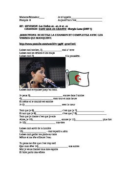 FRENCH SONG Tant Que Je Chante by Sherifa Luna
