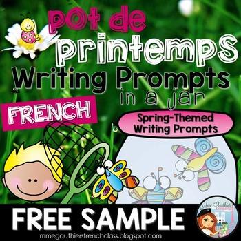 FRENCH SPRING *FREEBIE*  - POT DE PRINTEMPS