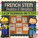 FRENCH STEM Posters and Template (Processus de S.T.I.M) SCIENCE PROJECT TEMPLATE