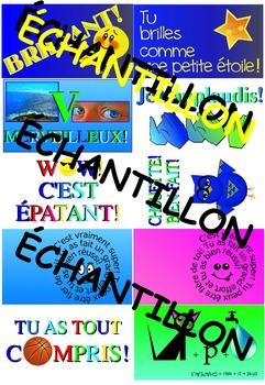 FRENCH BRAG TAGS / Billets: Tu peux être fier!
