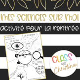 FRENCH Science About Me - Back to School Activity