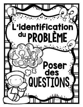 FRENCH Science Posters {Black & White} - La démarche expérimentale