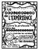 FRENCH Science Posters {Black & White} - La démarche expér