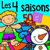 FRENCH BOOM CARDS • Les 4 saisons