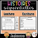 French Sequencing Read & Write - Fall / Histoires séquenti