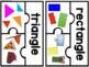 FRENCH Shape Puzzles / Géométrie - Casse-têtes des formes géométriques