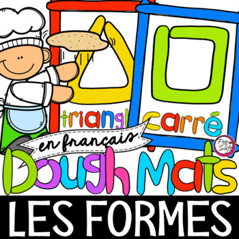 FRENCH Shapes Dough Mats
