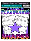 FRENCH - Shapes Flashcards - Shapes - Colour the Flashcards