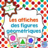 FRENCH Shapes posters/ Affiches de figures géométriques