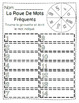 FRENCH Sight Word Spin/La Roue de Mots Frequents- Sight Word Practice Worksheets