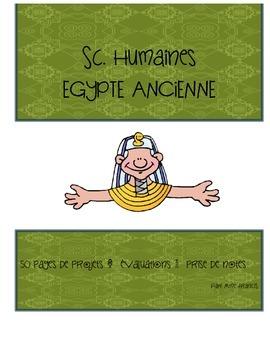 FRENCH Social Studies Ancient Egypt Complete Unit