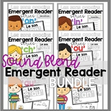 FRENCH Sound Blend Emergent Reader BUNDLE