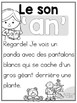 FRENCH Sound Blend Emergent Reader: Le son 'AN'