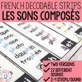FRENCH Sound Strips (Lis les sons composés)