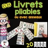 FRENCH Sounds Fluency Readers/ Livrets pliables des sons