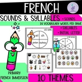 FRENCH Sounds and Syllables I Phonological Awareness