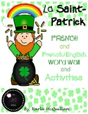 FRENCH St. Patrick's Day Activities : Les activités de Saint Patrick