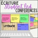 FRENCH Student Led Conference - Google Slide