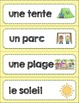 FRENCH Summer BINGO/ Bingo de l'été et des vacances