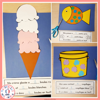 FRENCH Summer math crafts - Bricolages de mathématiques pour l'été