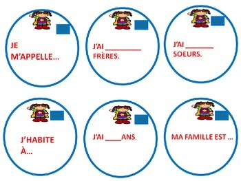 FRENCH TASK CARDS: Je Suis Super...