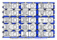 FRENCH TELLING TIME (3) - THREE DIFFERENTIATED DOMINOES GAMES