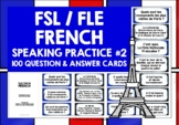 FRENCH CONVERSATION CARDS #2