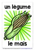 FRENCH FOR CHILDREN - 30 VEGETABLES POSTERS / FLASHCARDS