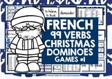 CHRISTMAS: FRENCH VERBS CHRISTMAS DOMINOES #1