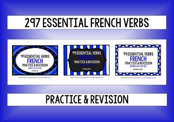 FRENCH VERBS PRACTICE & REVISION 297 VERBS SETS 1-3