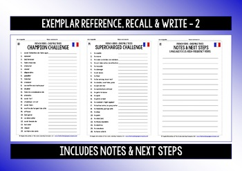 FRENCH VERBS (3) - PRACTICE & REVISION - 99 VERBS